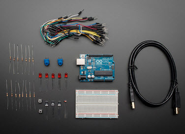 Budget Pack for Arduino (Arduino Uno R3)